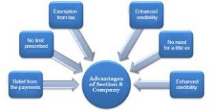 www.caindelhiindia.com; Advantages of Section-8 company
